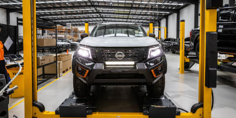 Nissan Navara Warrior back in production