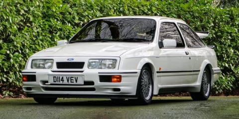 Ford Sierra RS500 Cosworth prototype to go under the hammer