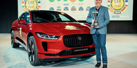 Jaguar I-Pace named European Car of the Year
