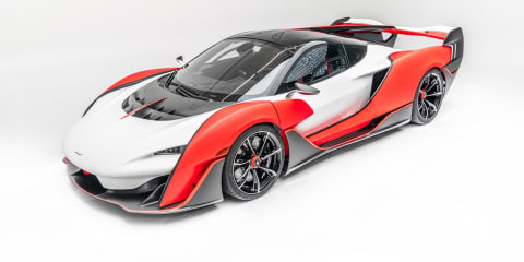 McLaren Sabre hypercar spied in testing – UPDATE: Officially revealed