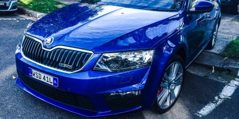 2014 Skoda Octavia RS Wagon Speed Date