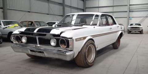 Barn find! 1971 Ford Falcon GTHO Phase III to fetch in excess of $300,000