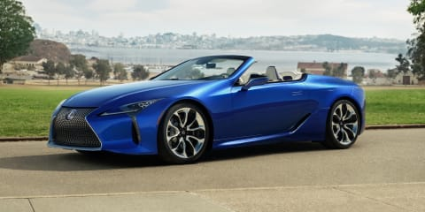 2020 Lexus LC500 Convertible revealed, confirmed for Australia