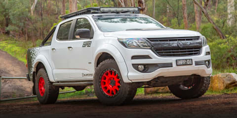 2019 Holden Colorado review: V8 Harrop Superado