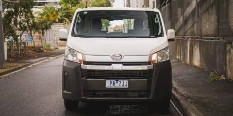 2019 Toyota HiAce LWB diesel manual review