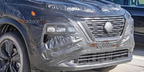 2021 Nissan X-Trail spied inside and out