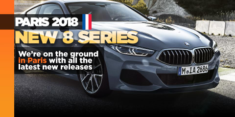New BMW 8 Series makes Paris debut