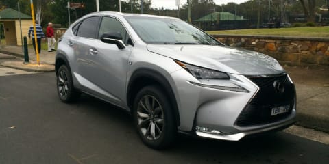 2015 Lexus NX200t spotted in the Blue Mountains months ahead of release