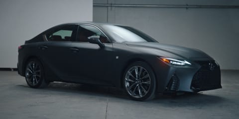 Lexus IS Wax Edition unveiled with onboard vinyl record player