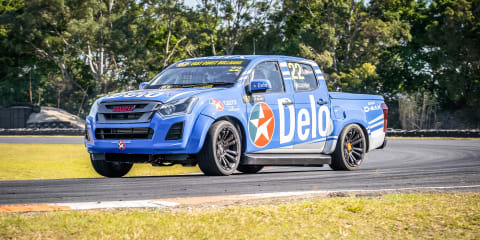 Isuzu showcases its motorsport partnership to the public