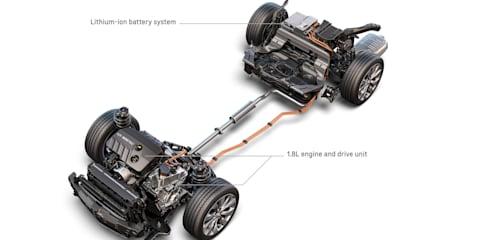 2016 Chevrolet Malibu Hybrid detailed