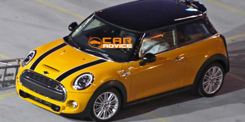 2014 Mini Cooper revealed in spy shots