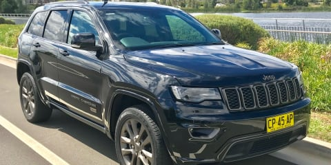 2016 Jeep Grand Cherokee 75th Anniversary (4x4) review
