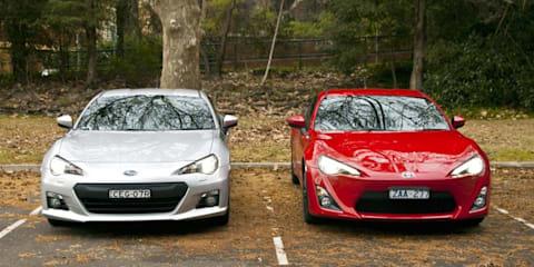 Toyota 86 vs Subaru BRZ Comparison Video Review
