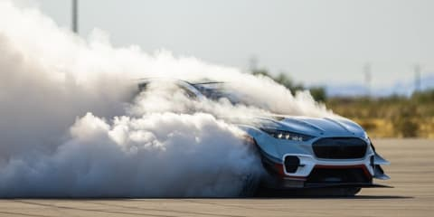 Is this Ken Block's Gymkhana Mustang Mach E electric stunt car?