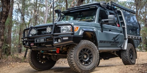 A quick drive in Norweld's heavily modified Toyota 79 Series LandCruiser