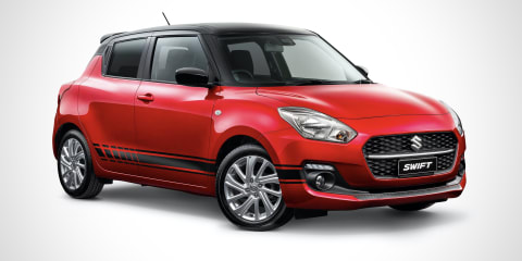 2021 Suzuki Swift 100 Year Anniversary Edition price and specs