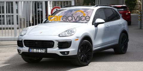 2015 Porsche Cayenne : Best look yet at luxury SUV facelift