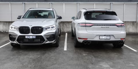 2020 BMW X3M Competition v Porsche Macan Turbo: Performance comparison review