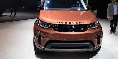 2017 Land Rover Discovery - 2016 Paris Motor Show
