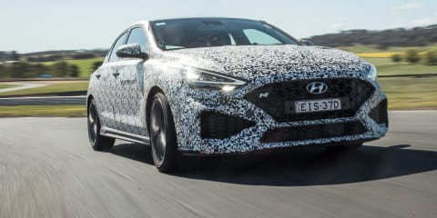 2021 Hyundai i30 N review: 8-speed auto prototype