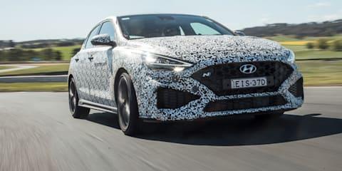 2021 Hyundai i30 N review: 8-speed auto prototype