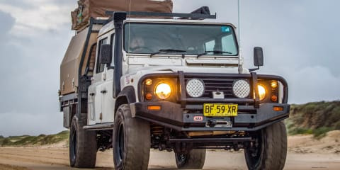 Project Cars: 2001 Land Rover Defender 130
