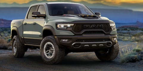 First 2021 Ram 1500 TRX sells for more than $500,000 in charity auction