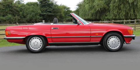 1986 Mercedes-Benz 300 SL review