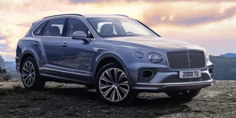2021 Bentley Bentayga revealed, plug-in hybrid inbound
