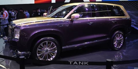 GWM's Tank 800 revealed as new luxury flagship at Shanghai motor show