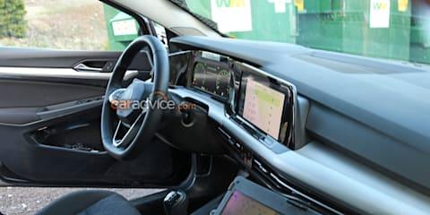 2020 Volkswagen Golf cabin snapped