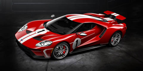 2018 Ford GT '67 Heritage Edition celebrates second GT40 Le Mans win