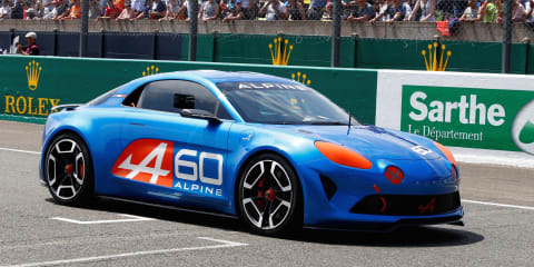Alpine coupe for Australia in 2017, more details