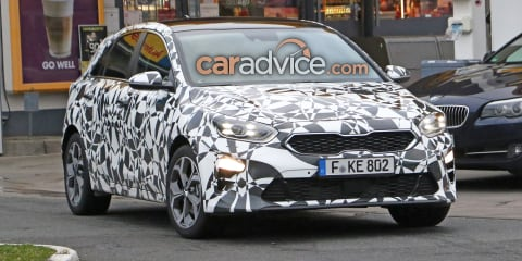 2018 Kia Cerato hatch spied in Cee'd form