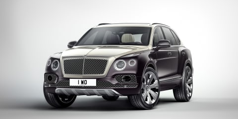 Bentley Bentayga Mulliner available to order