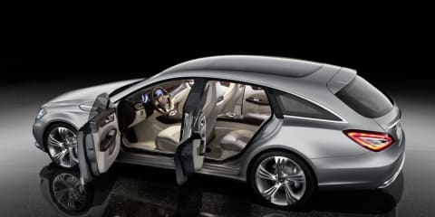 Mercedes-Benz CLS Coupe Shooting Break concept