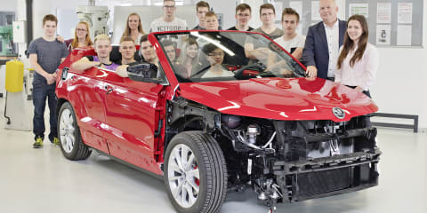 Skoda Karoq: Apprentice team creating convertible concept