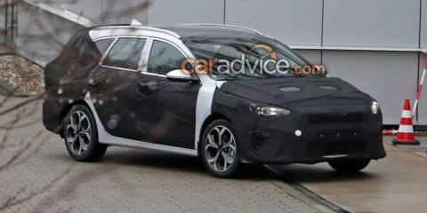 2018 Kia Cee'd Sportswagon caught with Cerato on its face