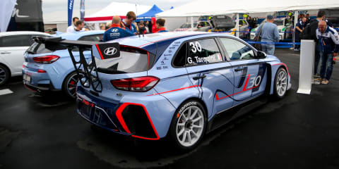 Hyundai i30 N TCR racer debuts at the Nurburgring