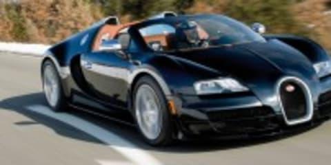 Bugatti Veyron Grand Sport Vitesse confirmed for Geneva