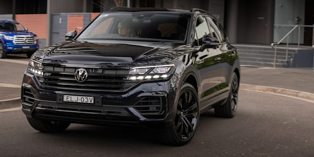 2021 Volkswagen Touareg 210TDI Wolfsburg Edition review