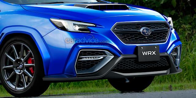 2022 Subaru WRX imagined as new spy photos surface