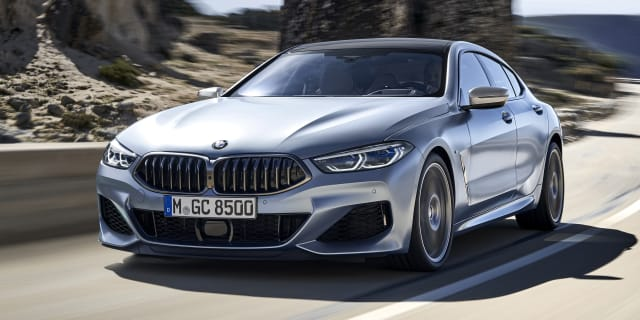 2019 BMW 8 Series Gran Coupe (officially) revealed