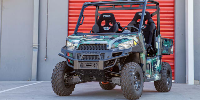 Video: Local company develops all-electric off-road buggy for Australian Defence Force