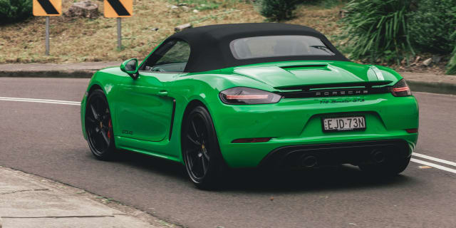 Fully-electric Porsche 718 Boxster concept in the works – report
