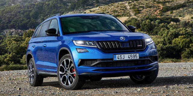 2020 Skoda Kodiaq RS pricing and specs