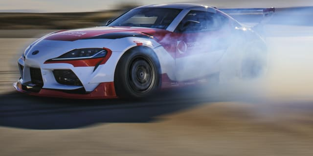 Autonomous Toyota GR Supra learns to drift