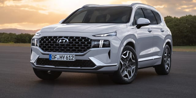 2021 Hyundai Santa Fe goes hybrid in Europe, and it's on Australia's wish list