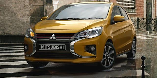 2020 Mitsubishi Mirage revealed